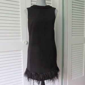 Ann Taylor Black Dress Size 4 P
